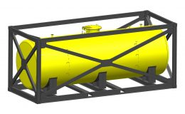 design_FEA_calculation_BP_tangguh_Fuel_tank_Iso